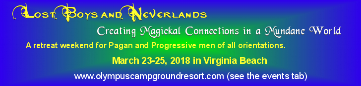 Lost Boys and Never Lands Pagan Men's Retreat